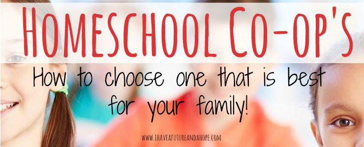 31 Days of Homeschool Supplies: Choosing the best homeschool co-op for your family!