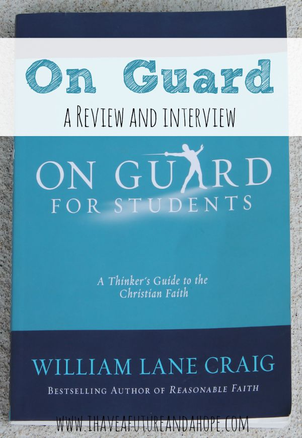 Review of On Guard for Students: Life Manual to your child's questions about God and religion. Guide your children in His ways