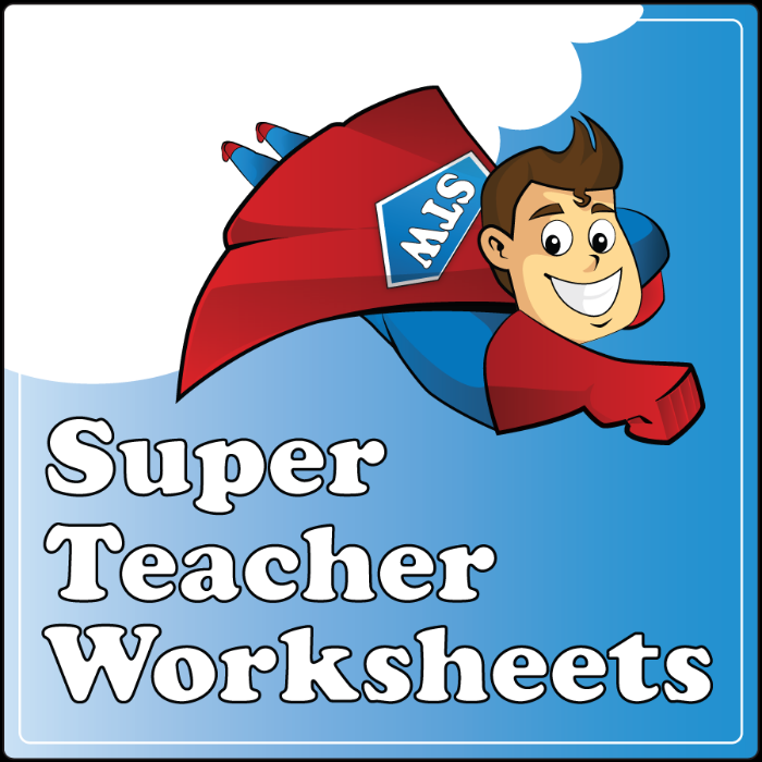super teachers worksheets – streamclean.info