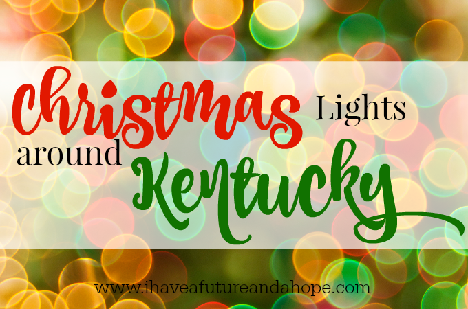 Christmas light around Kentucky